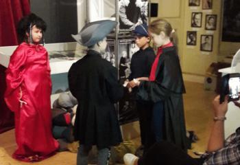 színészmúzeumban